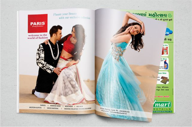 Paris Magazine Print Ads